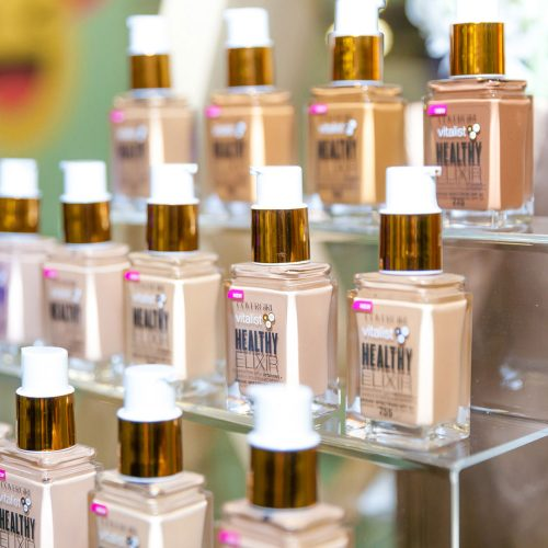 Display of CoverGirl Vitalist Healthy Elixir Foundation
