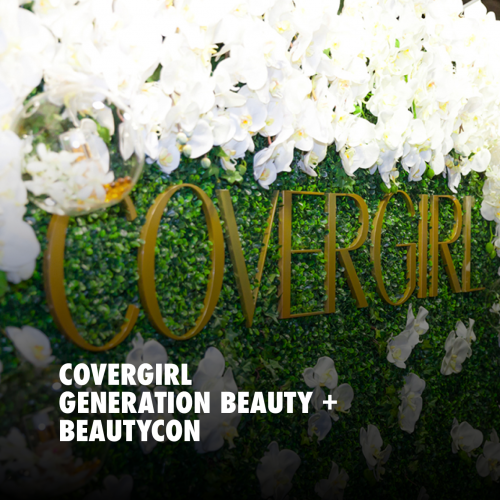 COVERGIRL GENERATION BEAUTY + BEAUTYCON