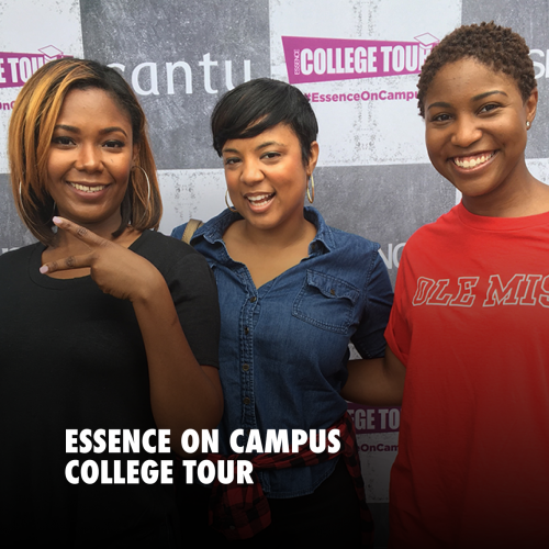 ESSENCE ON CAMPUS COLLEGE TOUR