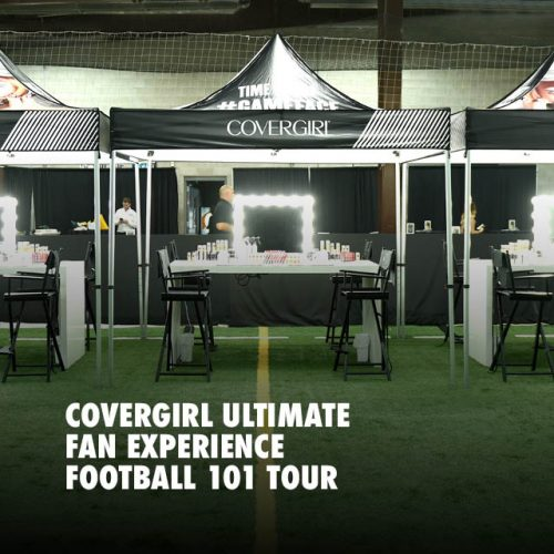 COVERGIRL ULTIMATE FAN EXPERIENCE: FOOTBALL 101 TOUR